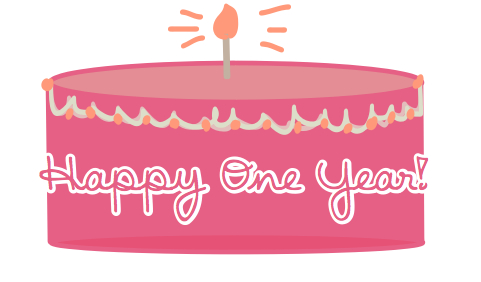 the kelsey wolfe blog happy one year