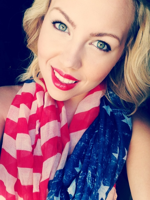 4th of july makeup2